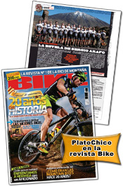 PlatoChico en la revista Bike