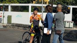 Respeto al ciclista, un metro y medio salva vidas