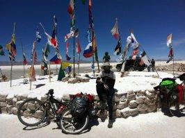Ernesto, Bolivia-Chile en bicicleta