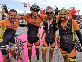 TransVulcania Bike 2018 todo un espectáculo.