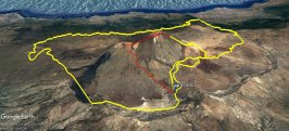 Vuelta al Teide en bicicleta de montaña y subida a pico caminando