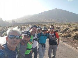 Caminata Pico Viejo , en Tenerife, Teide