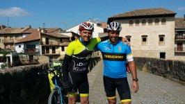 camino Frances hacia Santiago de Compostela