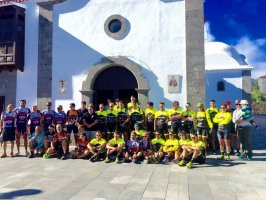Camino de Santiago del Teide en bicicleta de montaña
