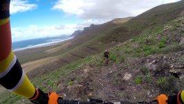 Lanzarote en bicicleta de montaña