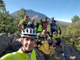 Ruta de largo recorrido en Tenerife en bicicleta de montaña