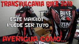 Vídeo de la Transvulcania Bike 2019, más sorteo maillot de la prueba.