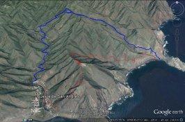 Itinerario hacia Antequera Tenerife