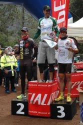 Tercero en master 30, I Marathon Mtb Tenerife Bicistar