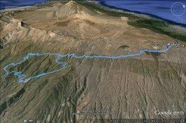 Ruta en Bicicleta el Contador de Arico