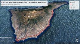 Ruta por el sur de Tenerife en bicicleta de montaña