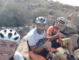 Ruta de 102km por el sur de Tenerife en bicicleta de montaña