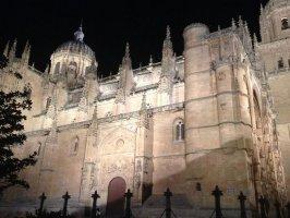 Catedral de Salamanca en la Vía La Plata